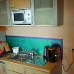 Eden Hotel am Park - Kleine Küche, Wasserkocher, kostenlose Kaffeekapseln