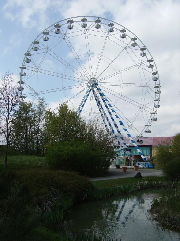 Riesenrad Skyline Park - 40 Meter hoch, 200 Tonnen Gewicht und 30 Gondeln