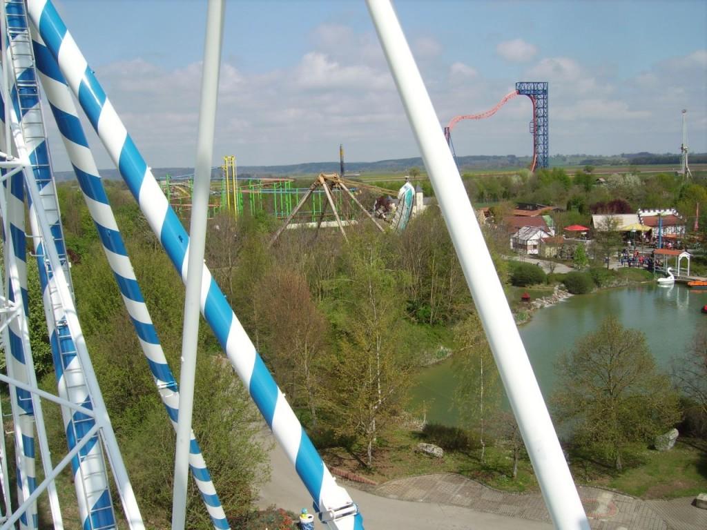 Aussicht über den Park