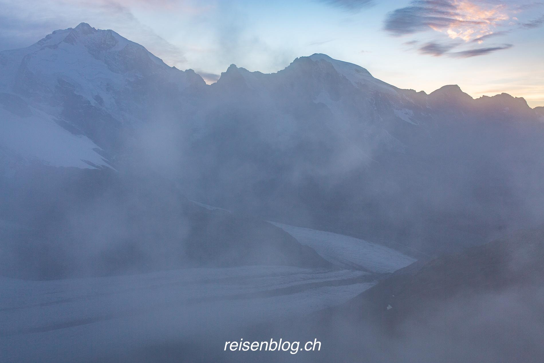 Abendstimmung im Nebel