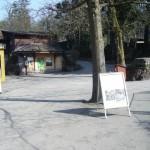 Eingangsbereich im Tierpark