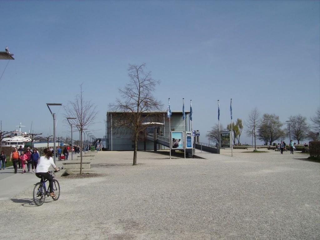 Der Eingangsbereich SEA LIFE Konstanz