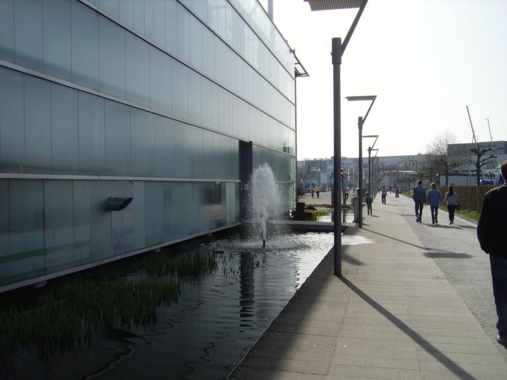 Blick vom Ausgang in Richtung Eingang, Konstanzer Hafen