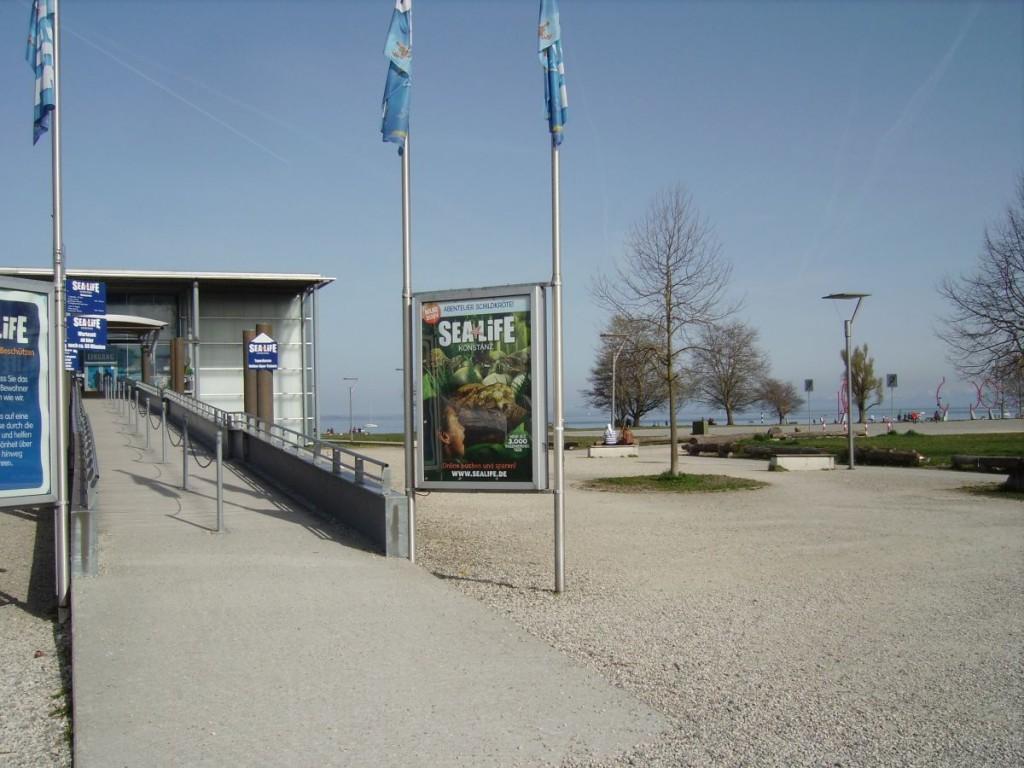 Eingangsbereich SEA LIFE Konstanz