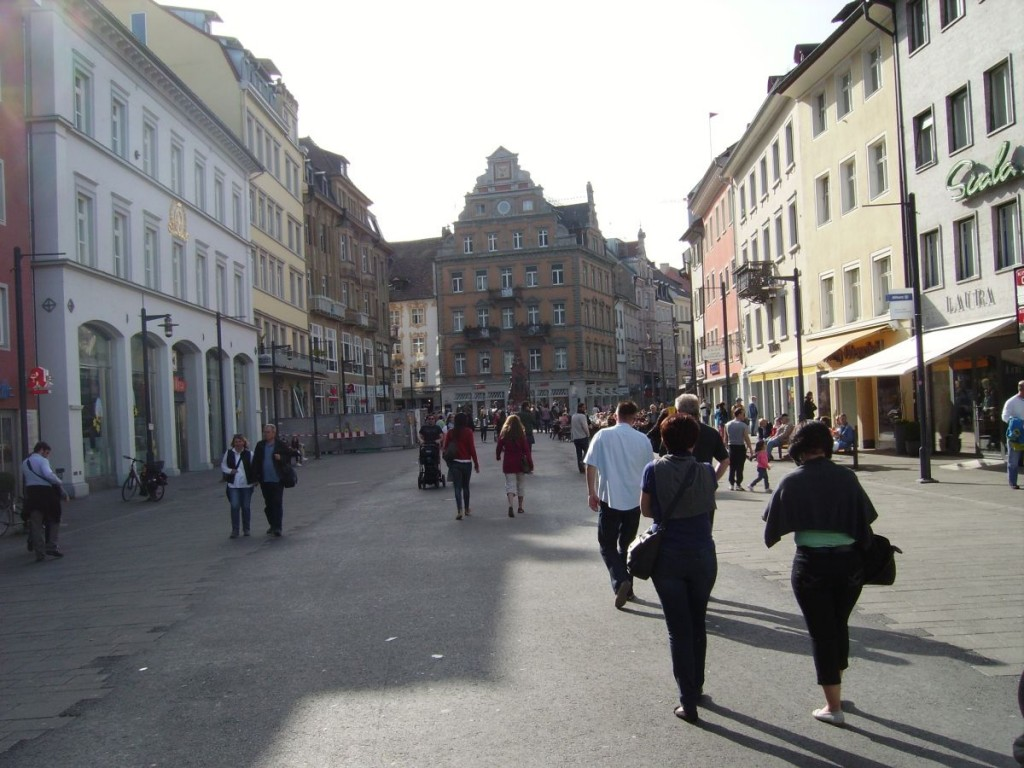 Konstanz, Blick auf die Marktstätte