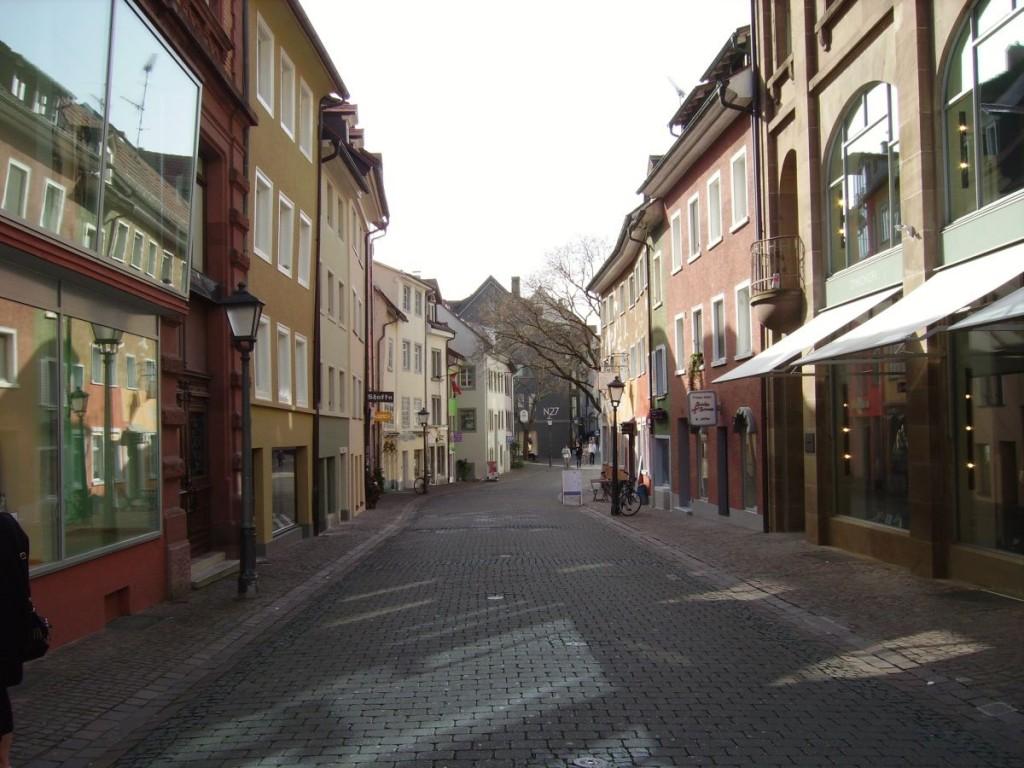 Eine Seitengasse der Rosgartenstrasse, Altstadt Konstanz