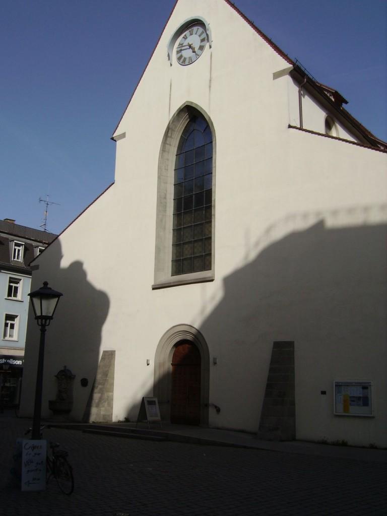 Kirchliches Gebäude, Rosgartenstrasse / Bahnhofstrasse Konstanz