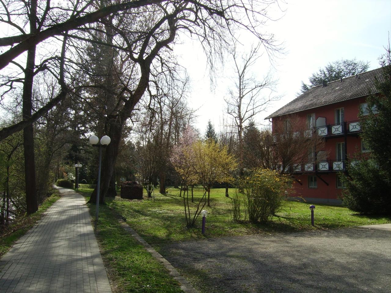 Eden Hotel am Park - Umgebung, mit Parkplatz