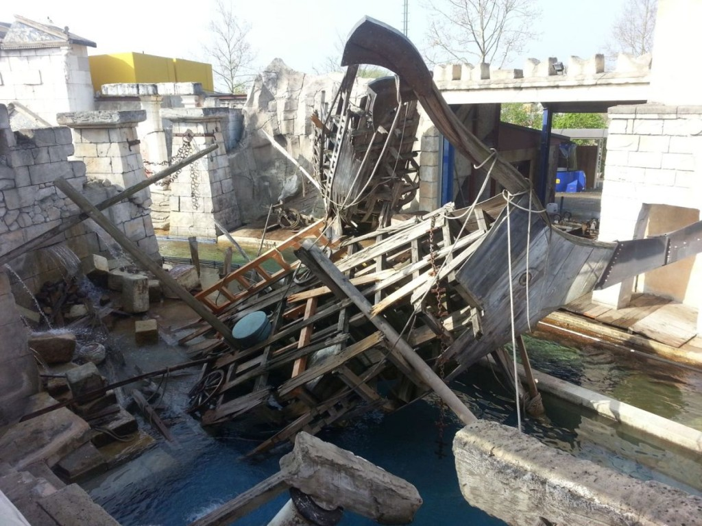Phantasievolle Gestaltung der Umgebung, Europa-Park Rust