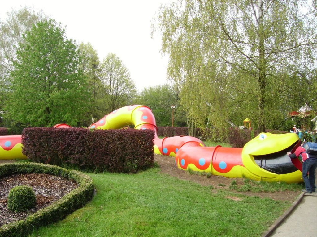 Die Schlangenröhre im Allgäu Skyline Park