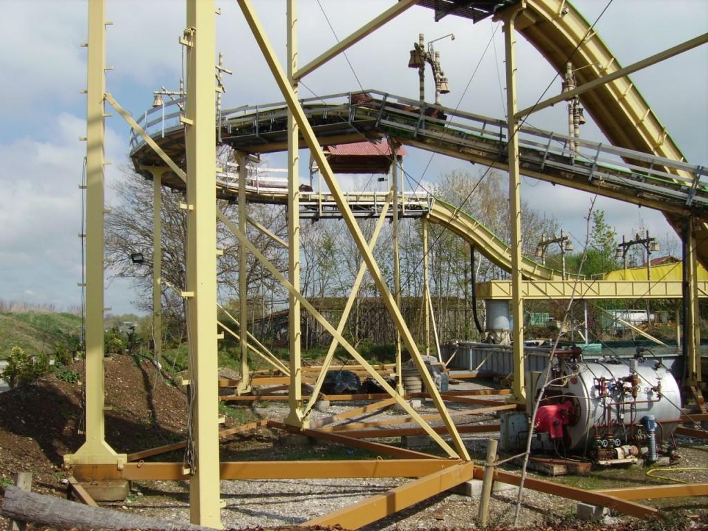 Wildwasserbahn im Allgäuer Freizeitpark