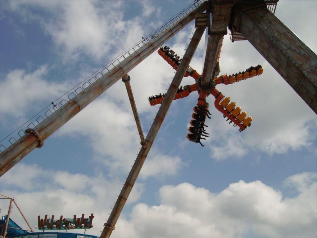 Sky Jet - bis 30 Meter hoch, 6 Gondelarme mit je 5 Sitzen