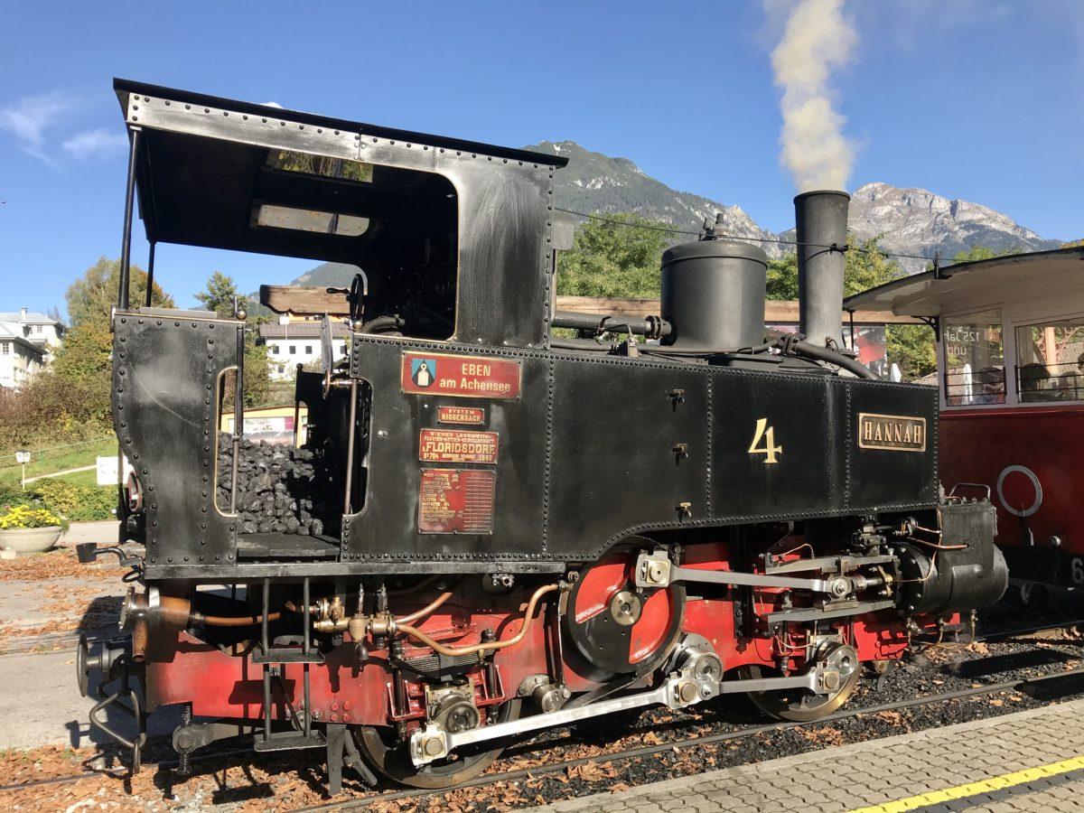 Ein gemütlicher Ausflug mit der nostalgischen Achenseebahn