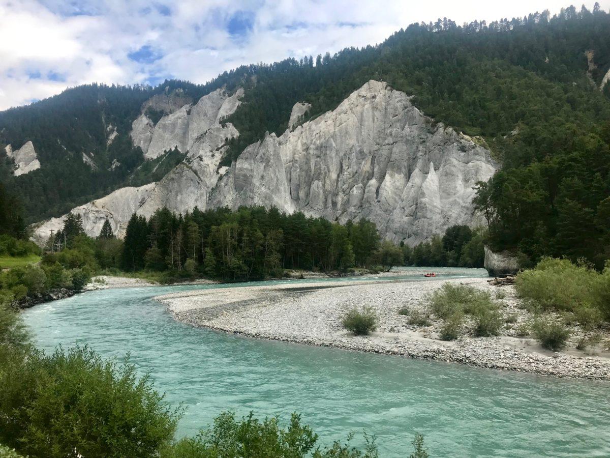 Die Rheinschlucht: der Grand Canyon der Schweiz
